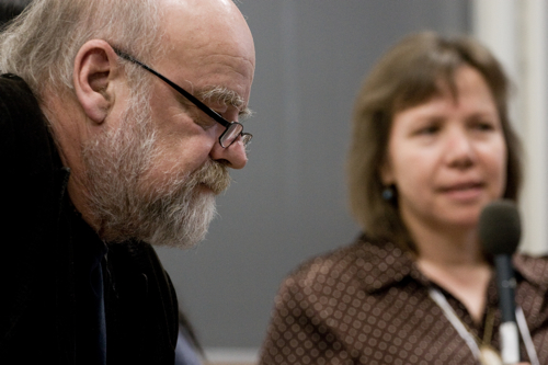 Serge Bouchard et Ellen Gabriel (© Sébastien Lavallée, 2009)